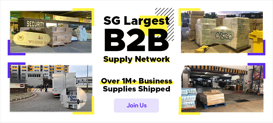 Singapore Largest B2B Marketplace - Singapore Largest B2B Supply Network with Over 1 Million Business Supplies Shipped